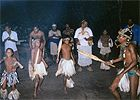 Tonga (Zulu) dancers at the game reserve