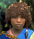 Tonga ( Zulu) girl in Northern KwaZulu-Natal, Tembe Elephant Park